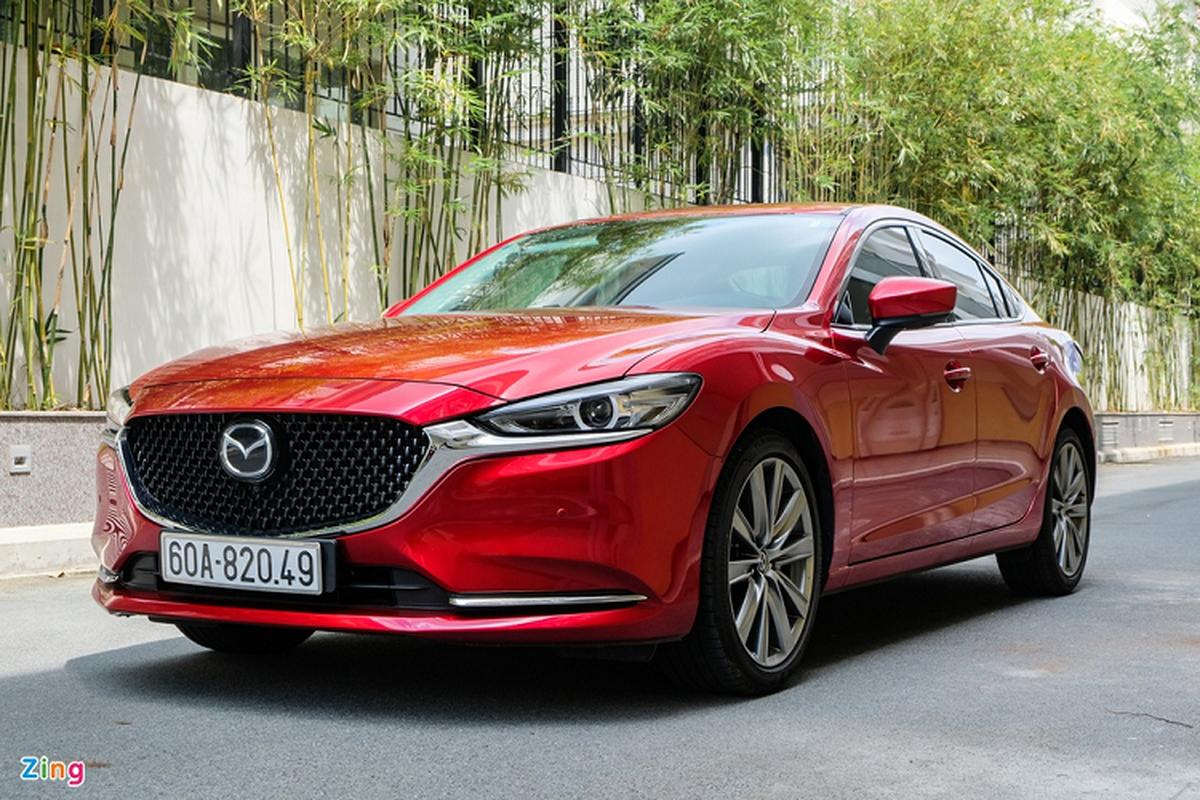 Mazda6 2.0L Premium 2020, doi thu Toyota Camry tai Viet Nam-Hinh-13