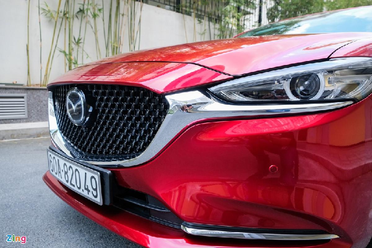 Mazda6 2.0L Premium 2020, doi thu Toyota Camry tai Viet Nam-Hinh-5