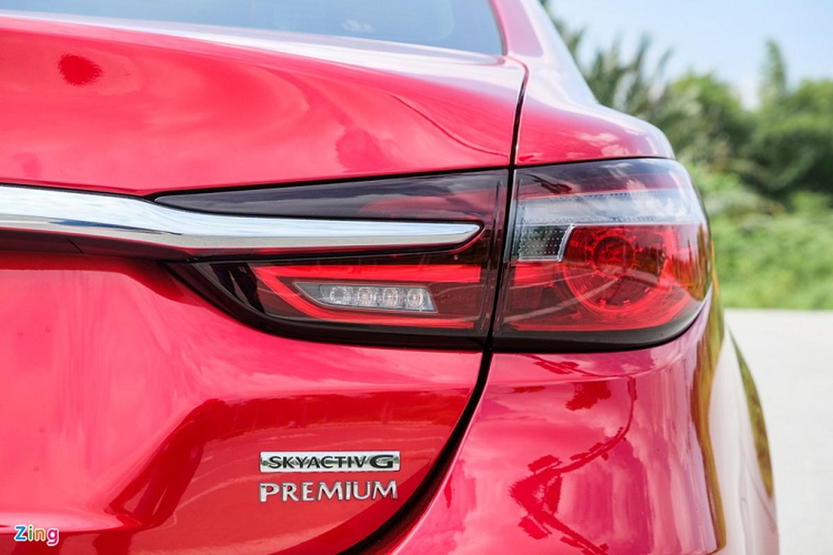 Mazda6 2.0L Premium 2020, doi thu Toyota Camry tai Viet Nam-Hinh-7