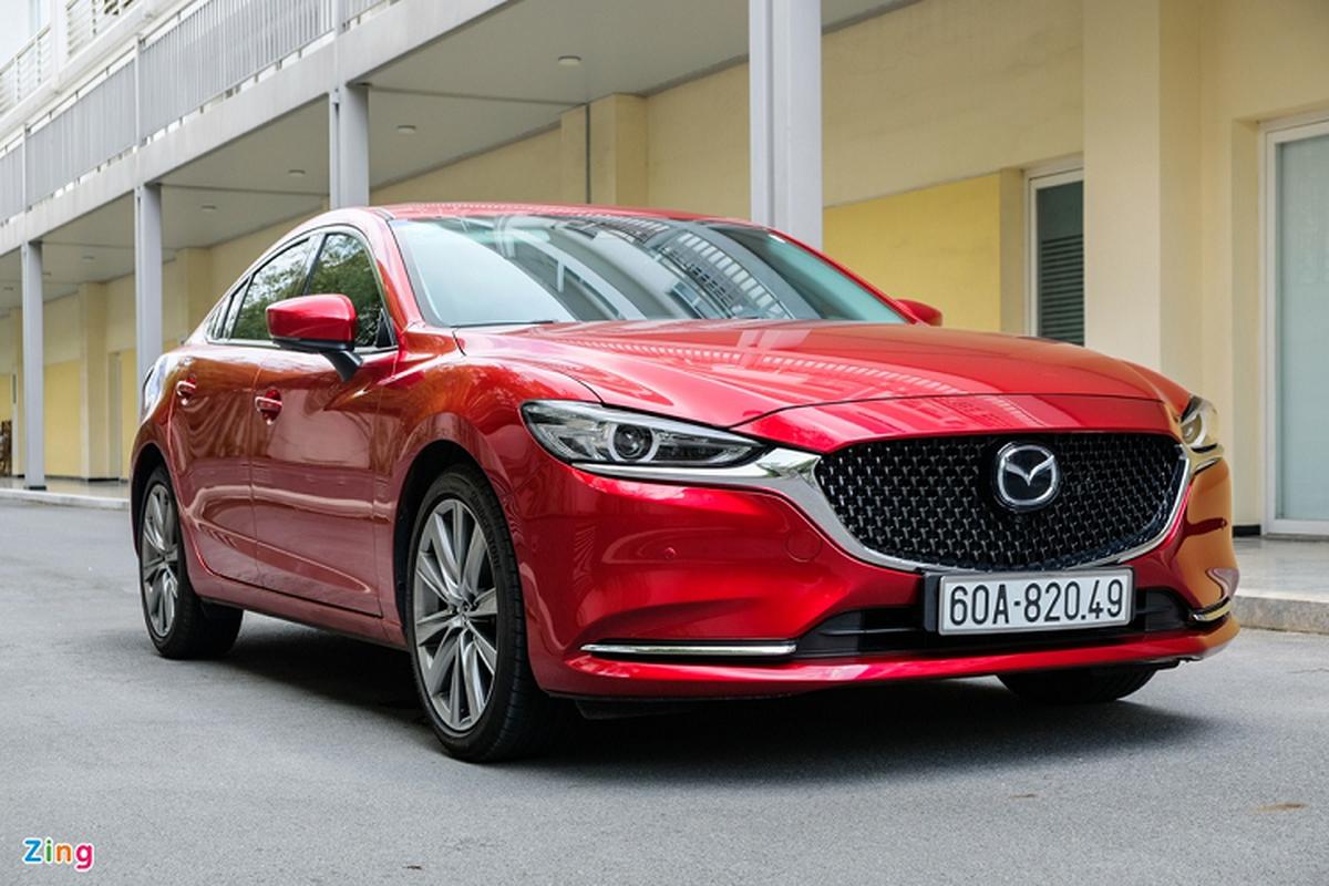 Mazda6 2.0L Premium 2020, doi thu Toyota Camry tai Viet Nam