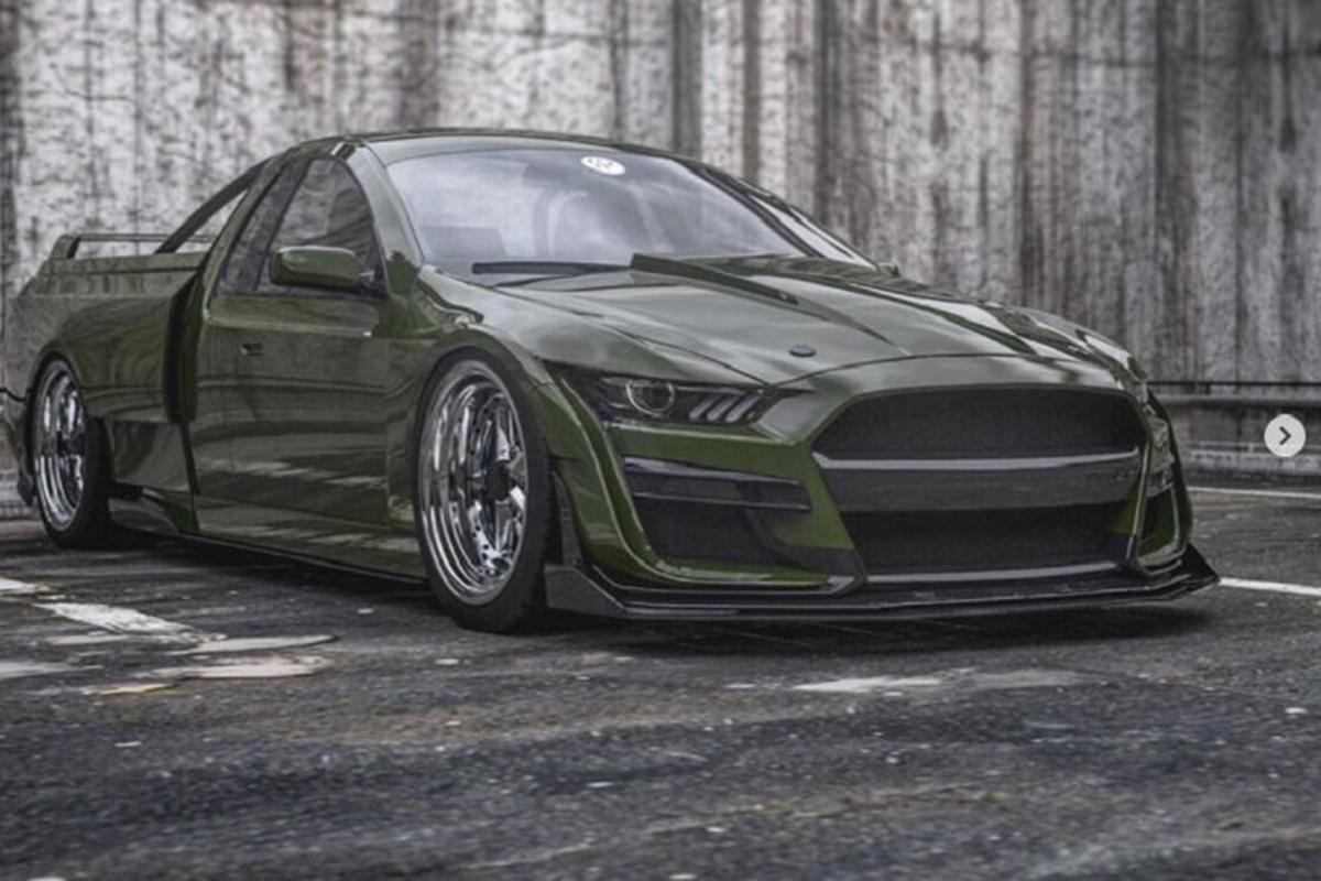 "Ford Mustang Shelby GT500 let dat khien dan tinh ""phat dien"""