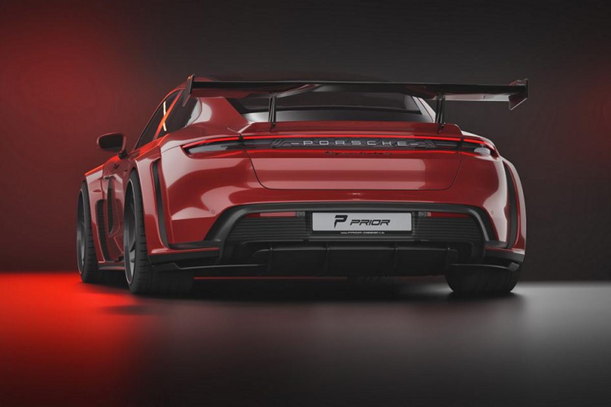 Prior Design do than rong cho sieu xe dien Porsche Taycan-Hinh-2