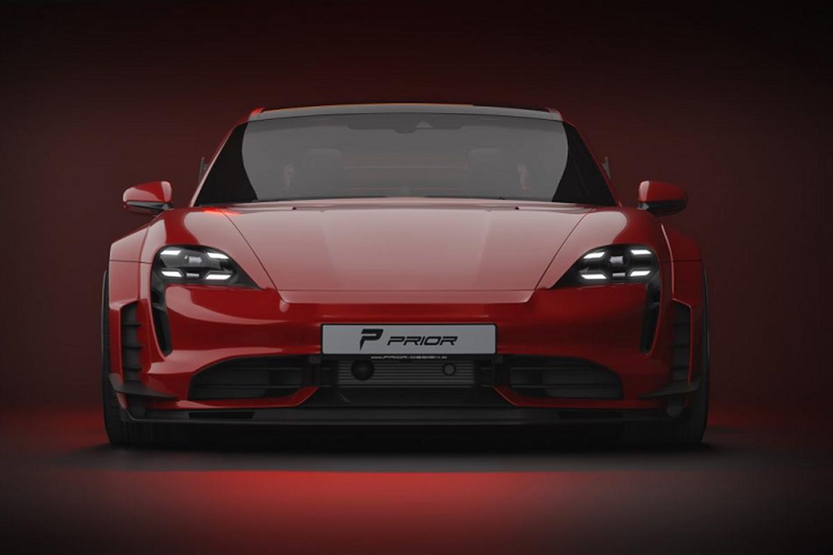 Prior Design do than rong cho sieu xe dien Porsche Taycan-Hinh-3