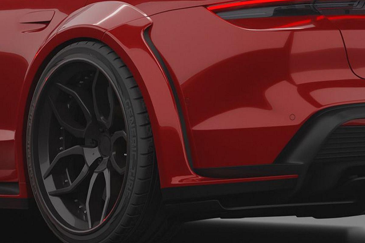 Prior Design do than rong cho sieu xe dien Porsche Taycan-Hinh-4