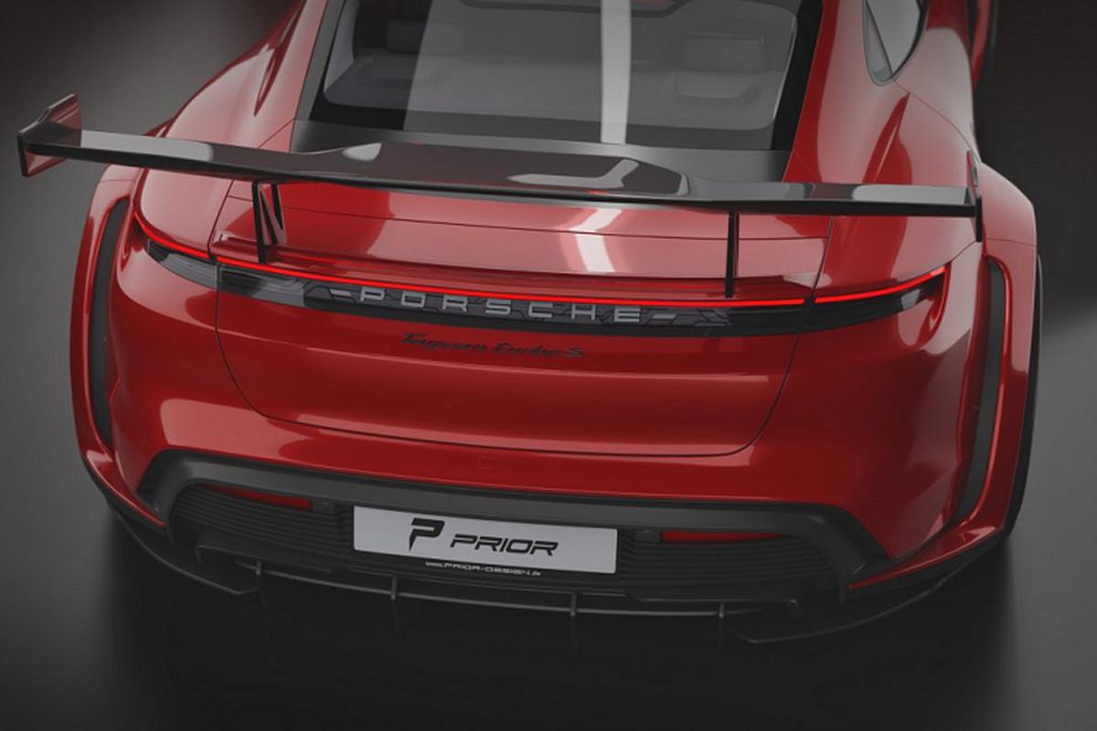 Prior Design do than rong cho sieu xe dien Porsche Taycan-Hinh-5