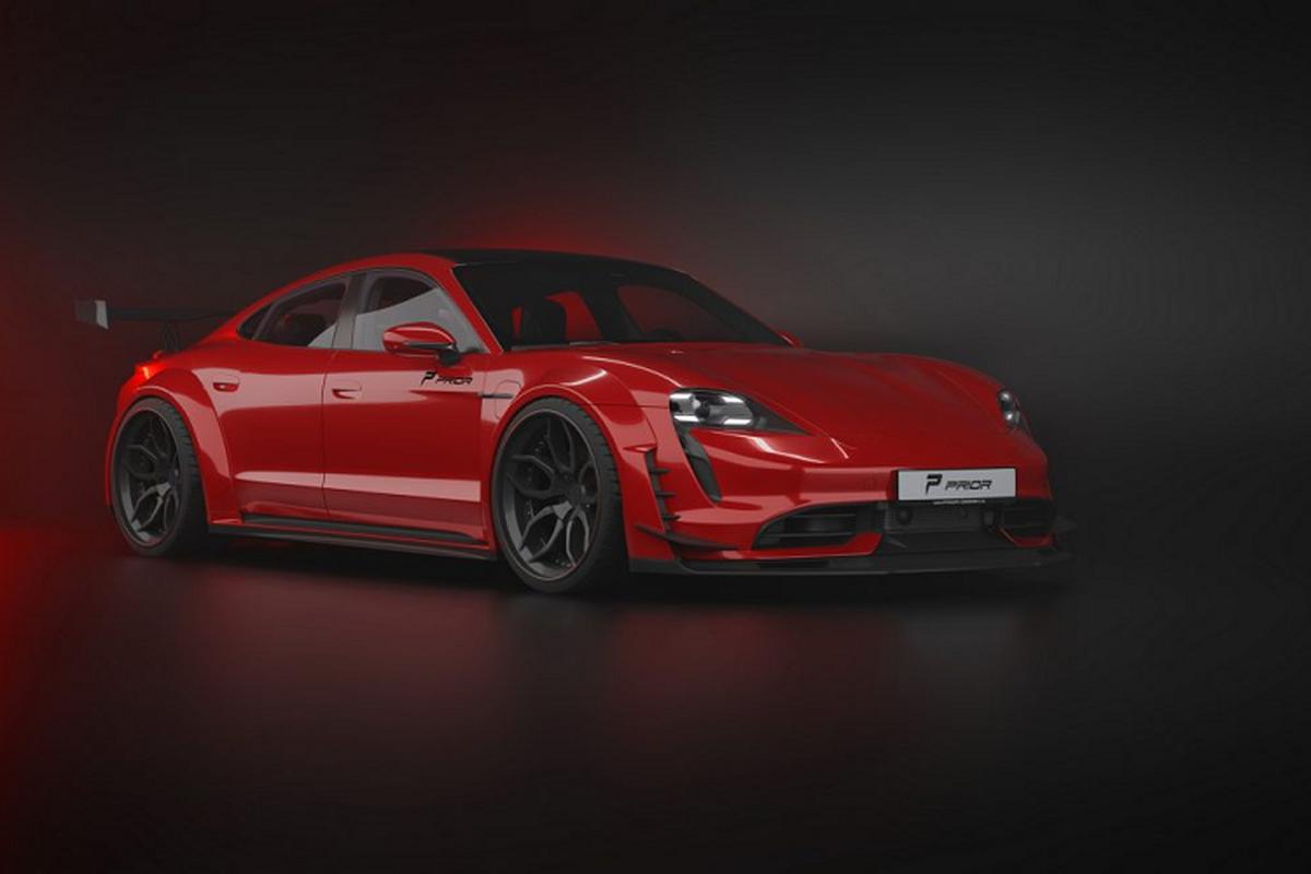 Prior Design do than rong cho sieu xe dien Porsche Taycan-Hinh-7