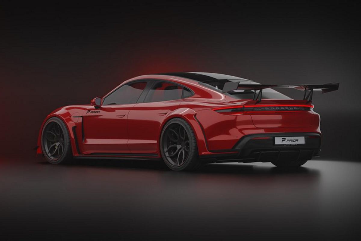 Prior Design do than rong cho sieu xe dien Porsche Taycan-Hinh-8