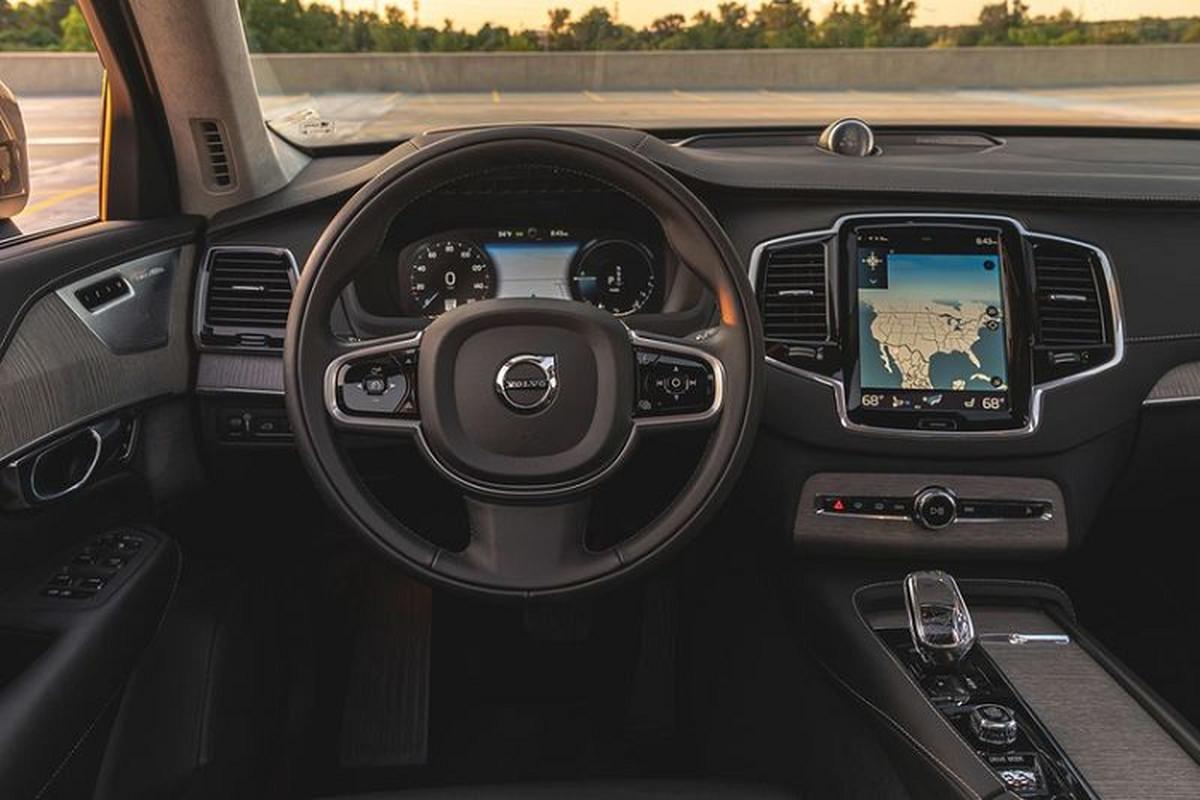 Volvo XC90 T8 2020 - SUV 7 cho sang trong, tien nghi va toi gian-Hinh-7