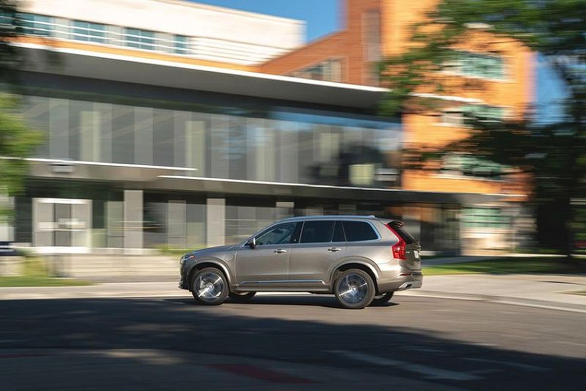 Volvo XC90 T8 2020 - SUV 7 cho sang trong, tien nghi va toi gian-Hinh-8