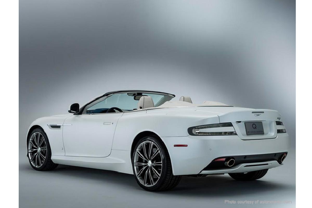 Aston Martin DB9 cua dai gia Trung Nguyen,