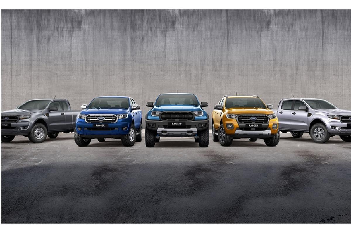 Ban tai Ford Ranger Wildtrak X 2020 ra mat tai Australia