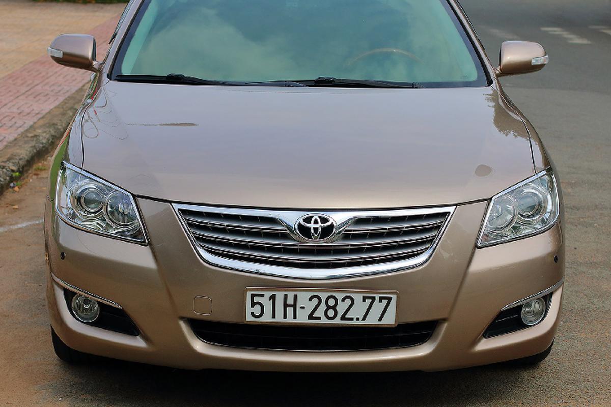 "Toyota Camry 3.5Q 2007, xe ""nha giau"" mot thoi chi 500 trieu-Hinh-2"
