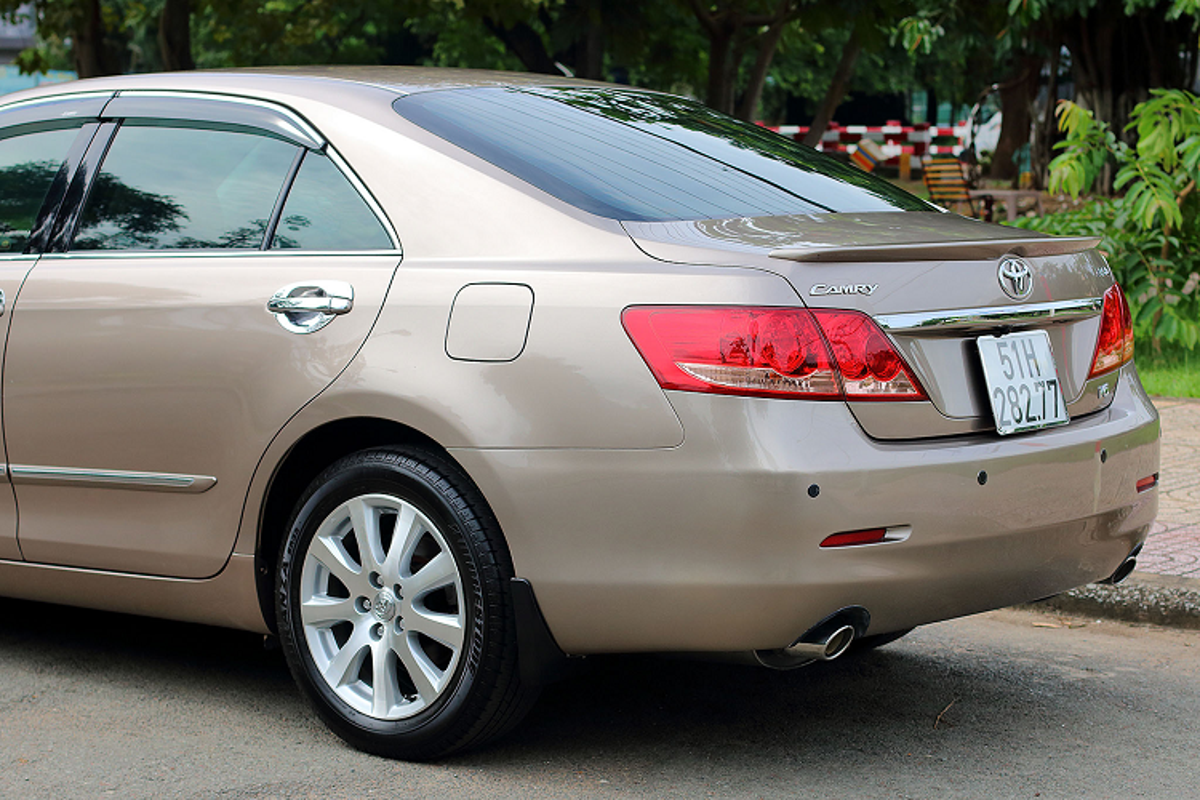 "Toyota Camry 3.5Q 2007, xe ""nha giau"" mot thoi chi 500 trieu-Hinh-4"
