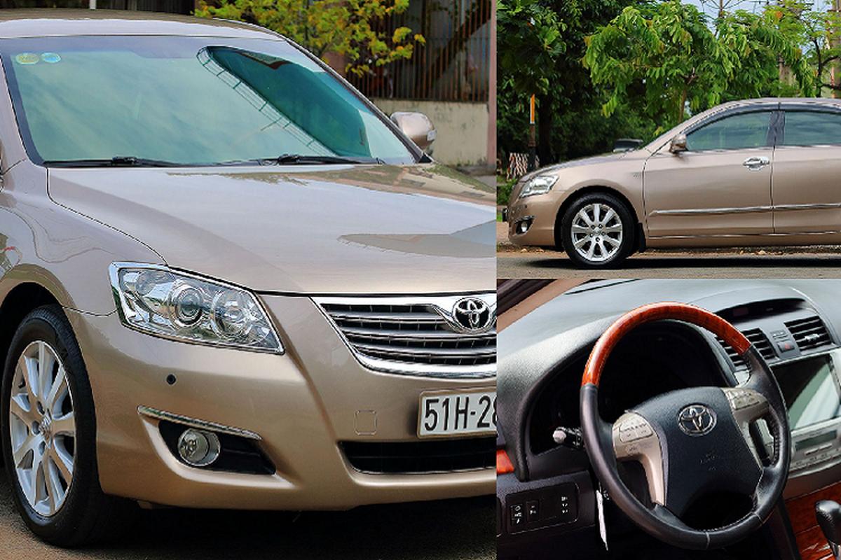 """Toyota Camry 3.5Q 2007, xe """"nha giau"""" mot thoi chi 500 trieu"""