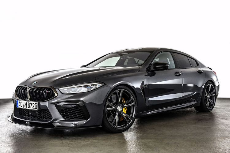 Ngam xe do BMW M8 Competition manh toi 710 ma luc