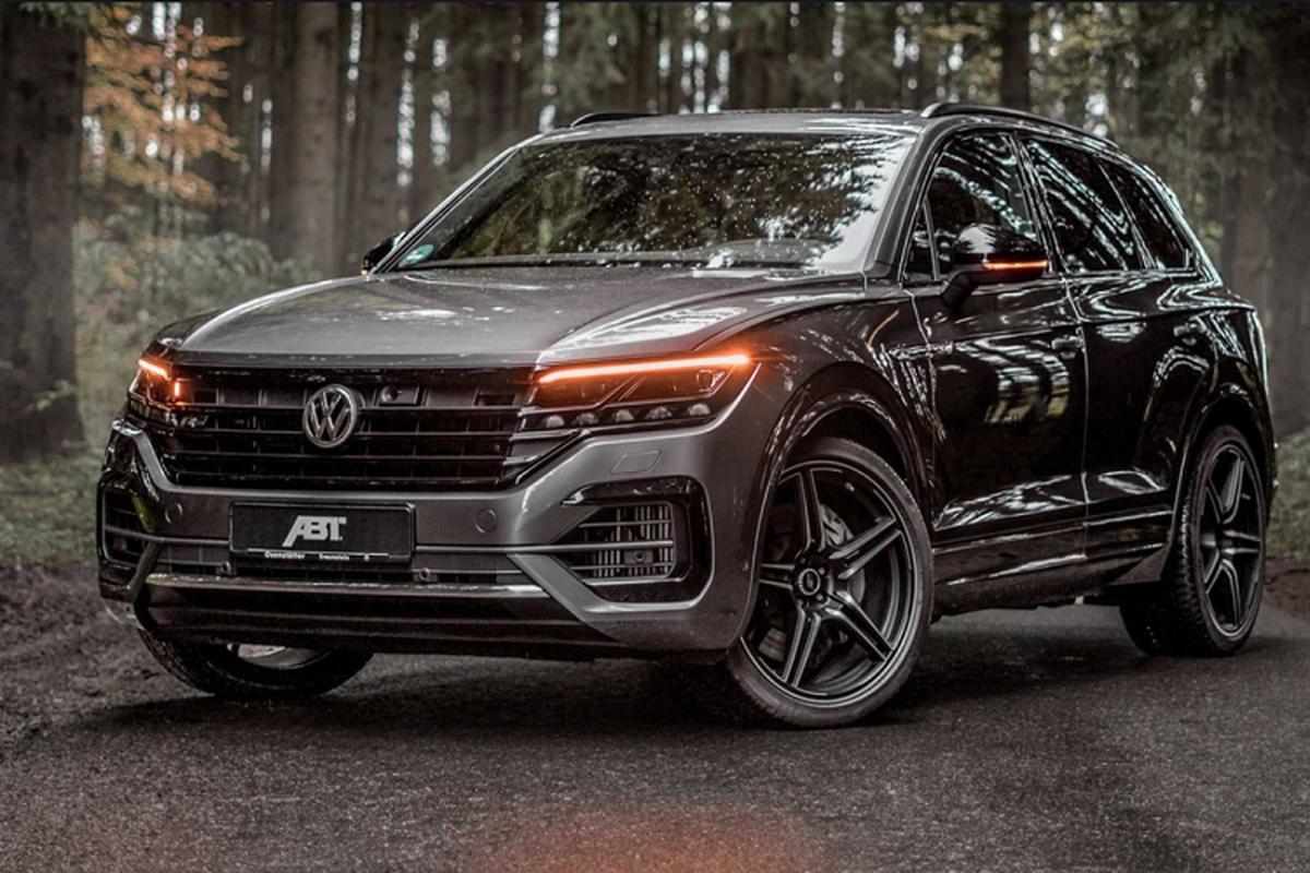 Ngam Volkswagen Touareg V8 TDI tang cong suat den tu ABT