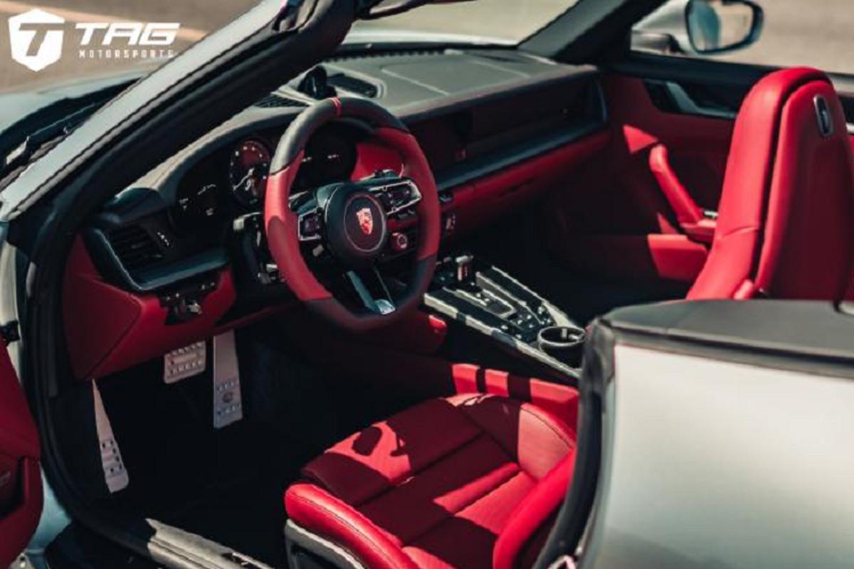 Ngam ban do Porsche 992 Cabriolet sieu chat tu TechArt-Hinh-4