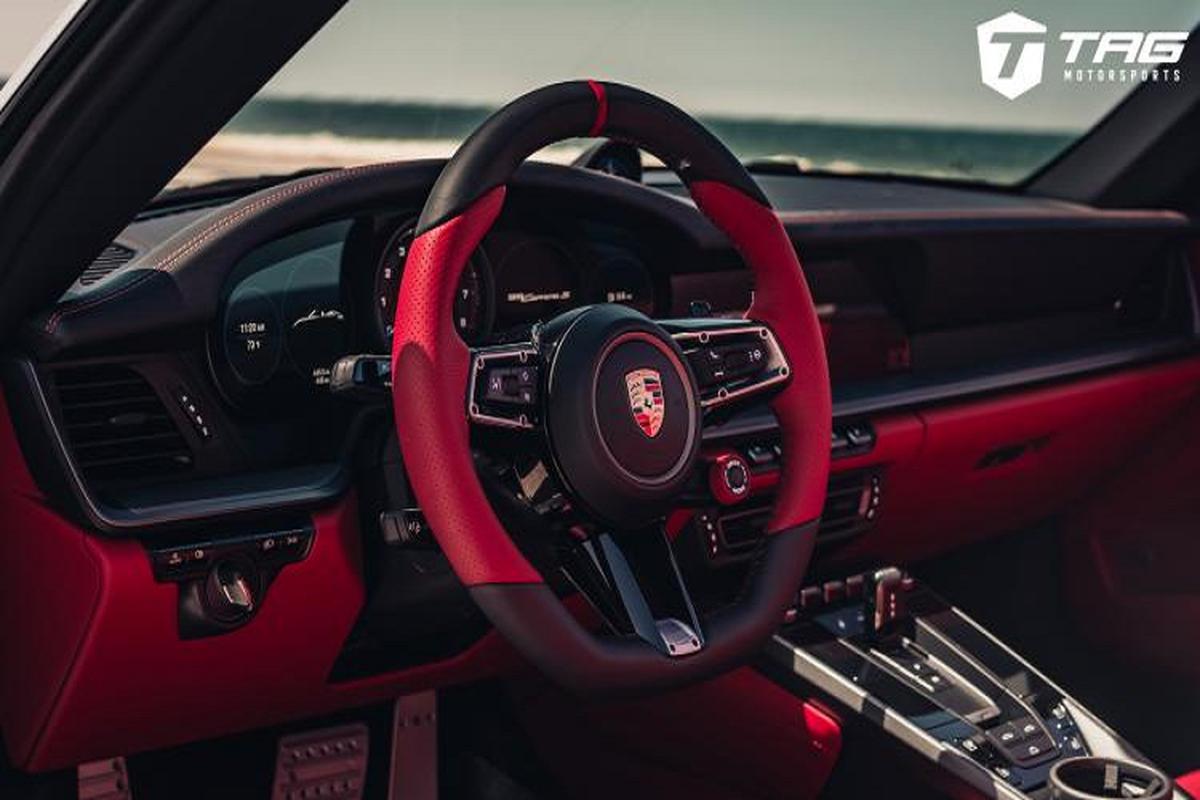 Ngam ban do Porsche 992 Cabriolet sieu chat tu TechArt-Hinh-5
