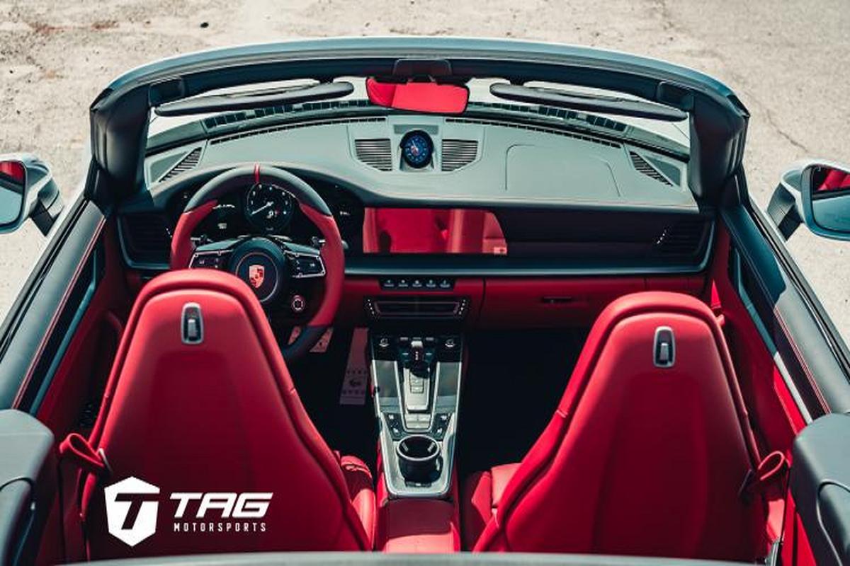 Ngam ban do Porsche 992 Cabriolet sieu chat tu TechArt-Hinh-6