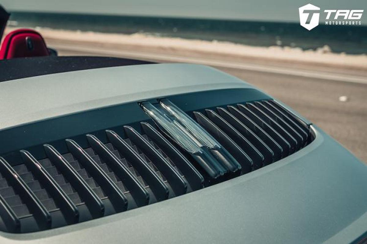 Ngam ban do Porsche 992 Cabriolet sieu chat tu TechArt-Hinh-7