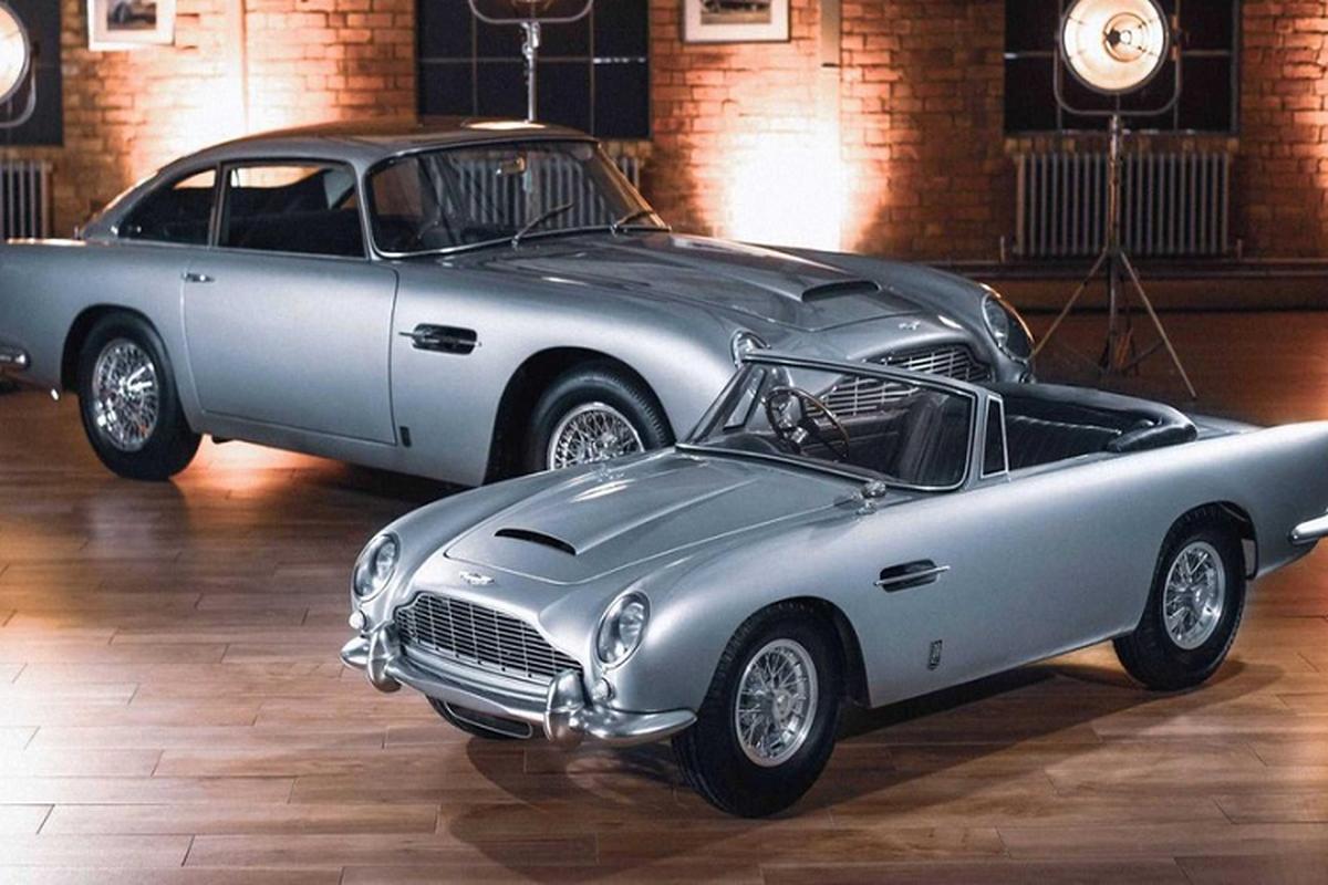 "Sieu xe Aston Martin DB5 Junior ""thieu nhi"" ban ra ca ty dong"