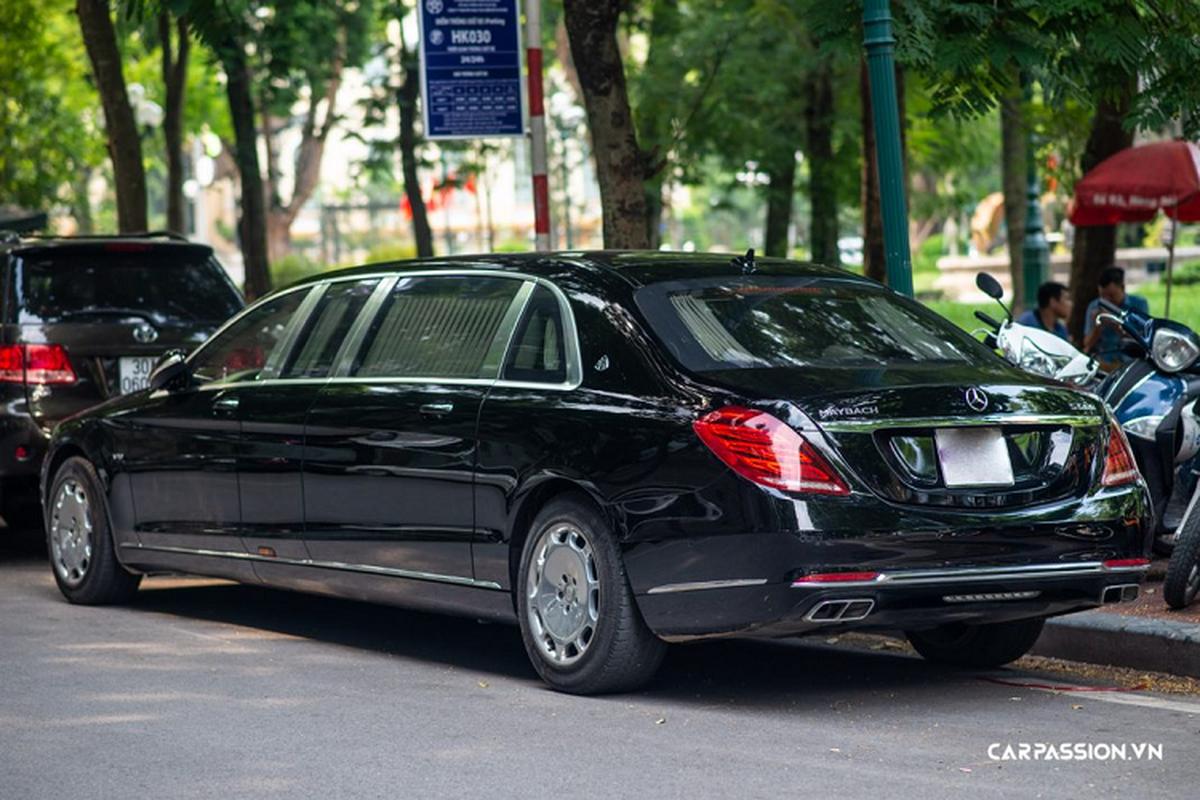 Chiem nguong Mercedes-Maybach S600 Pullman hon 34 ty o Ha Noi-Hinh-2