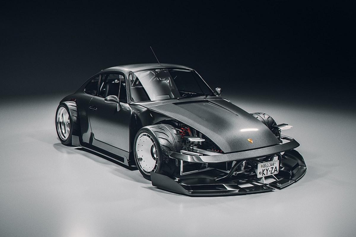 Ban do Porsche 911 theo phong cach xe dua go-kart-Hinh-2