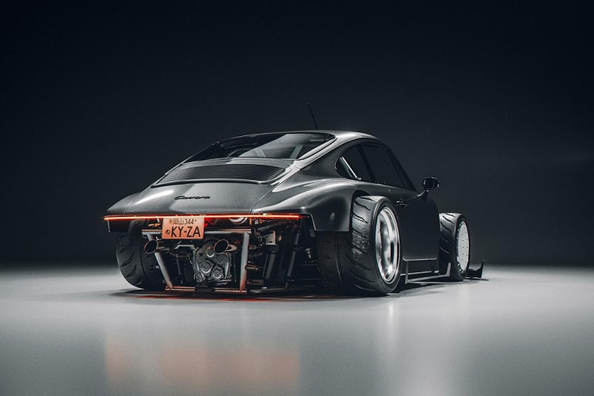 Ban do Porsche 911 theo phong cach xe dua go-kart-Hinh-5