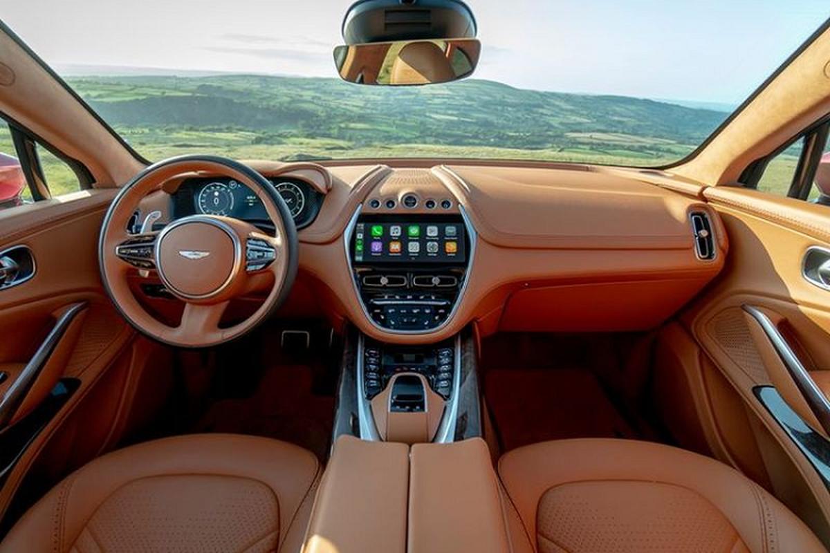 Sieu SUV Aston Martin DBX, co gi de canh tranh Lamborghini Urus?-Hinh-13