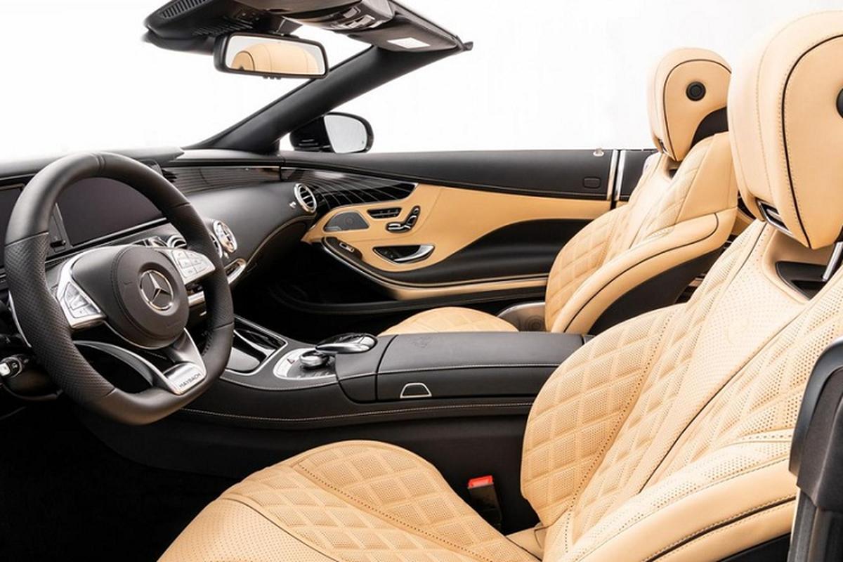 Xe sang Mercedes-Maybach S650 Cabriolet dung chan, ban van loi-Hinh-2