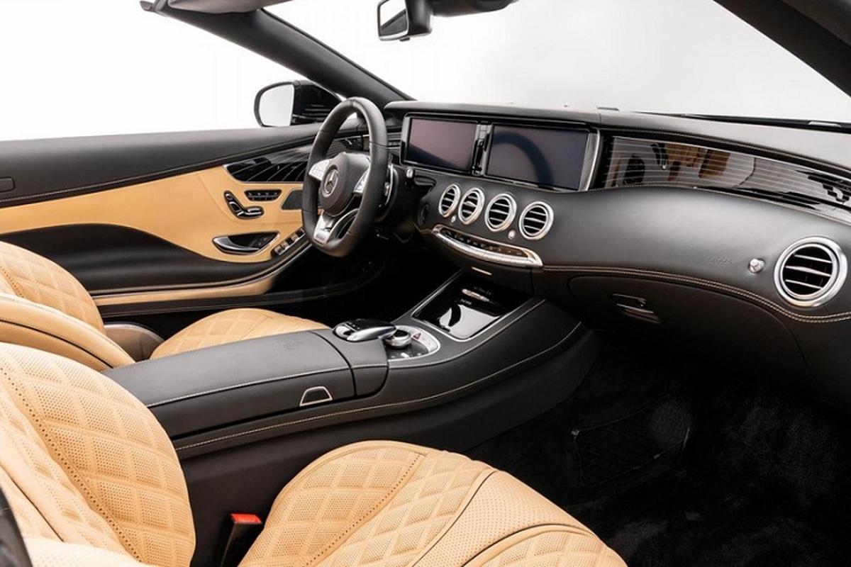Xe sang Mercedes-Maybach S650 Cabriolet dung chan, ban van loi-Hinh-7