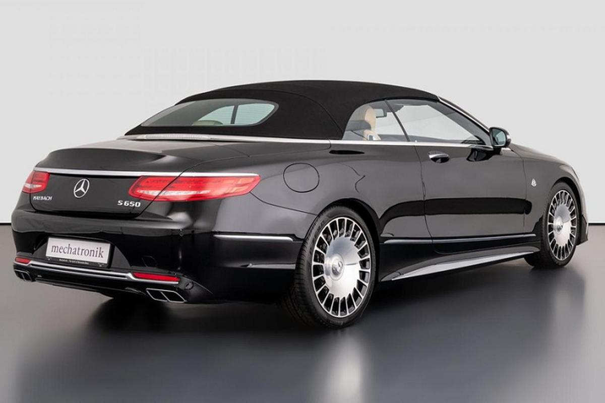 Xe sang Mercedes-Maybach S650 Cabriolet dung chan, ban van loi-Hinh-8