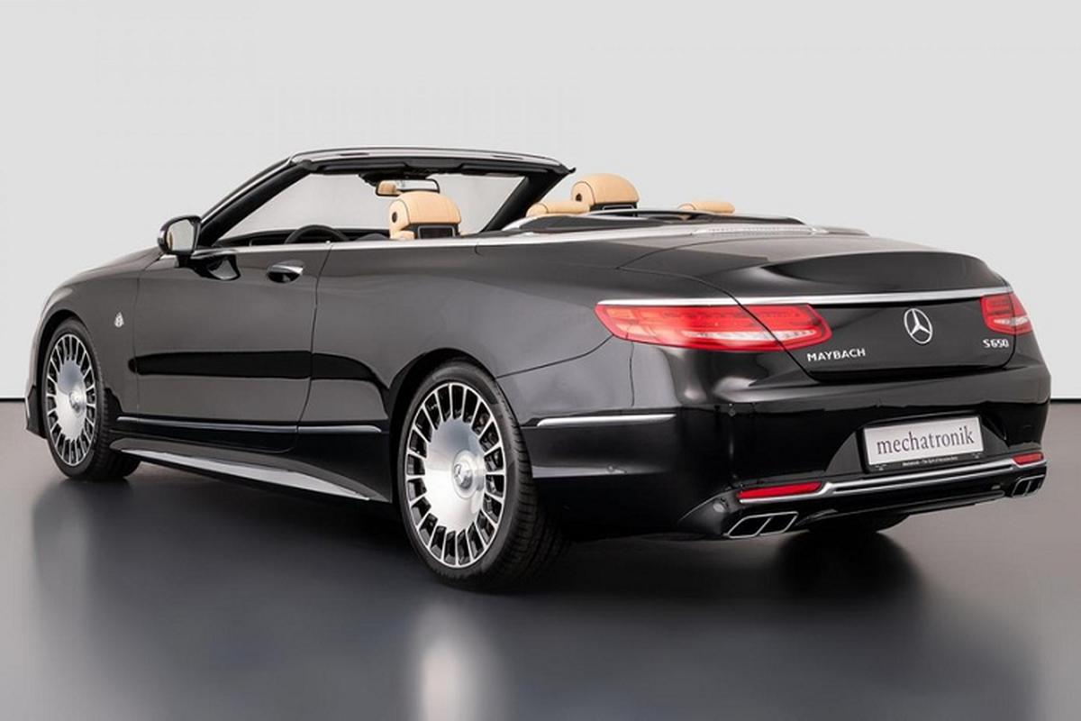 Xe sang Mercedes-Maybach S650 Cabriolet dung chan, ban van loi-Hinh-9