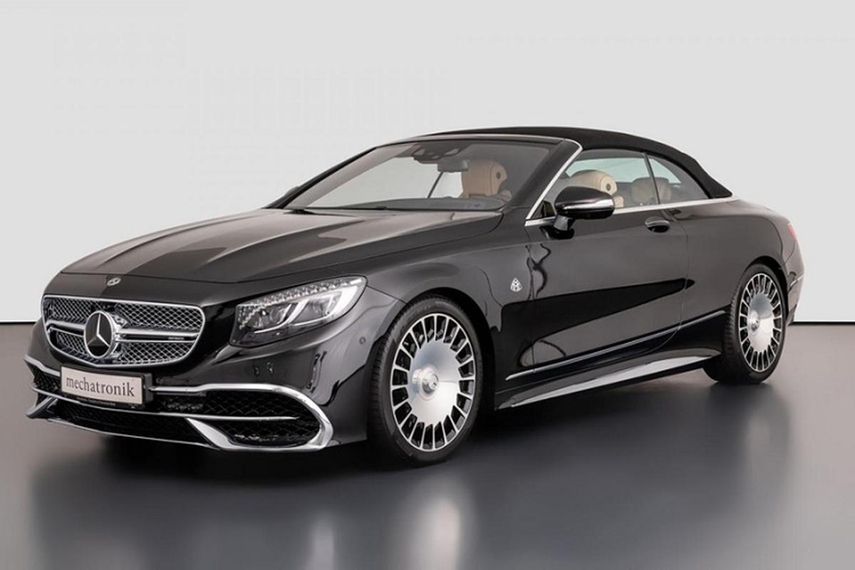Xe sang Mercedes-Maybach S650 Cabriolet dung chan, ban van loi