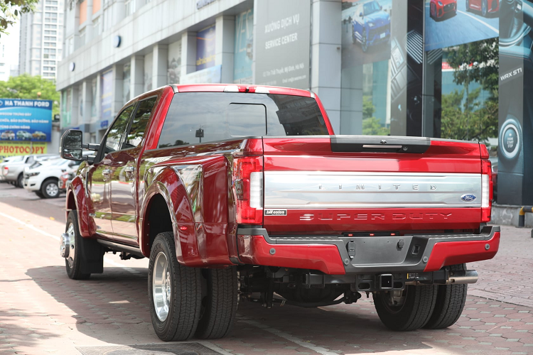 Can canh Ford F-450 Super Duty hon 6 ty dong tai Viet Nam-Hinh-2