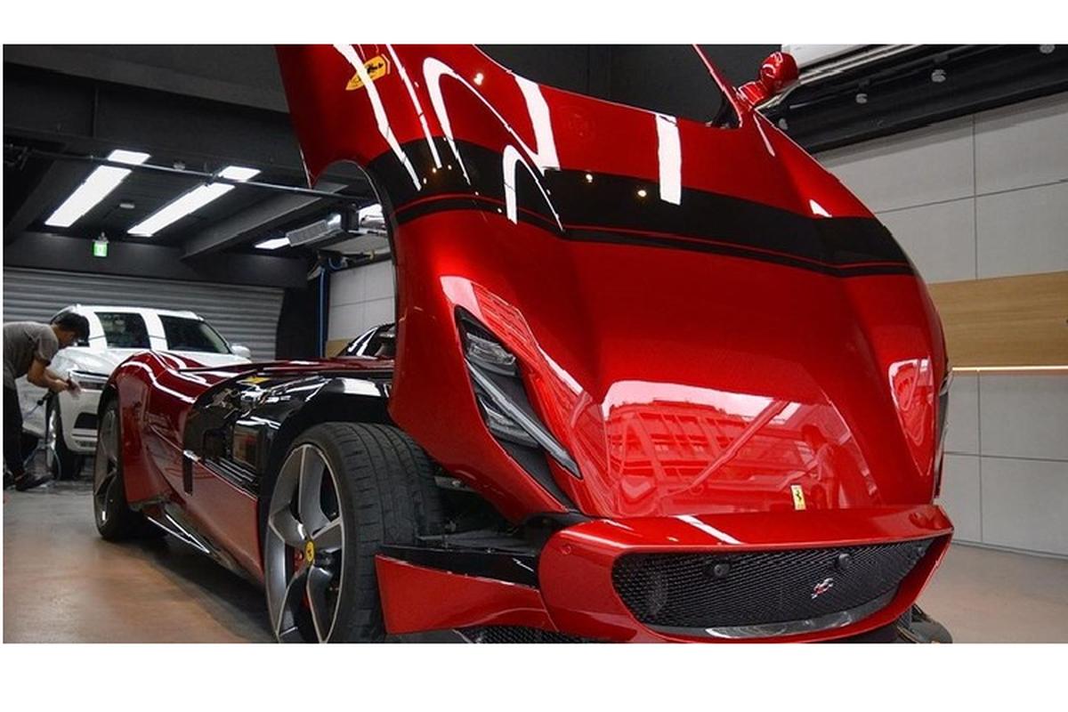 "Sieu xe ""ich ky"" Ferrari Monza SP1 hon 40 ty dong den Dai Loan-Hinh-11"