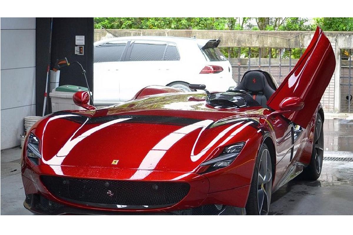 "Sieu xe ""ich ky"" Ferrari Monza SP1 hon 40 ty dong den Dai Loan-Hinh-3"