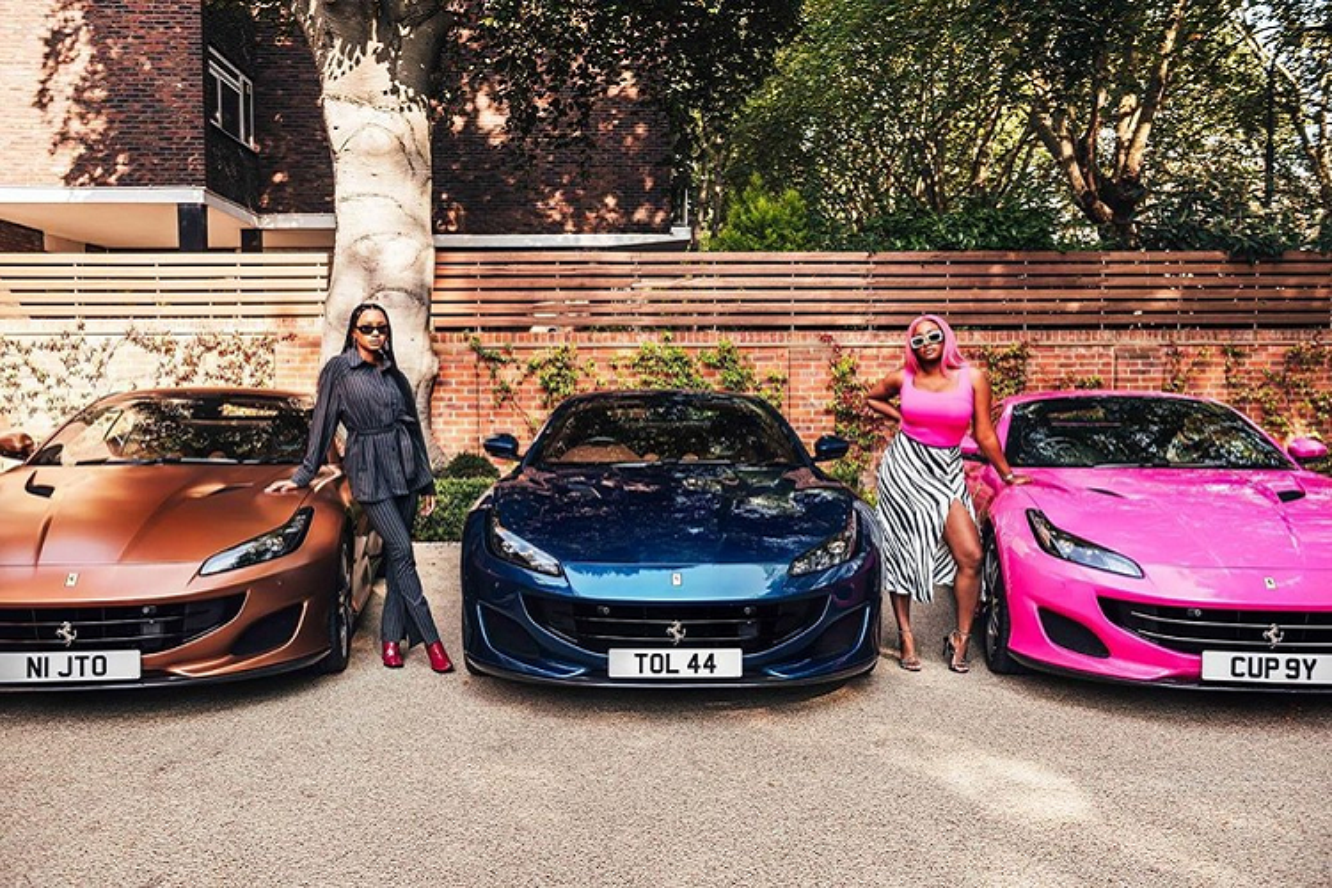 Ty phu Nigeria mua 3 sieu xe Ferrari Portofino tang con gai