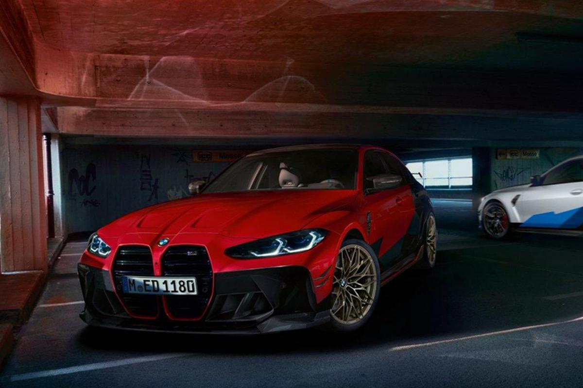 Vua ra mat, BMW M3 va M4 2021 da co ban do cho dan choi