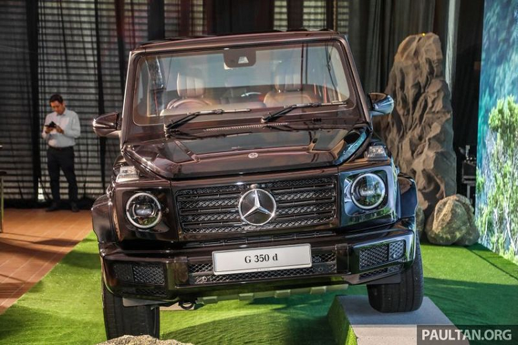 Can canh Mercedes-Benz G350d gia re tu 5,6 ty dong tai Malaysia-Hinh-11