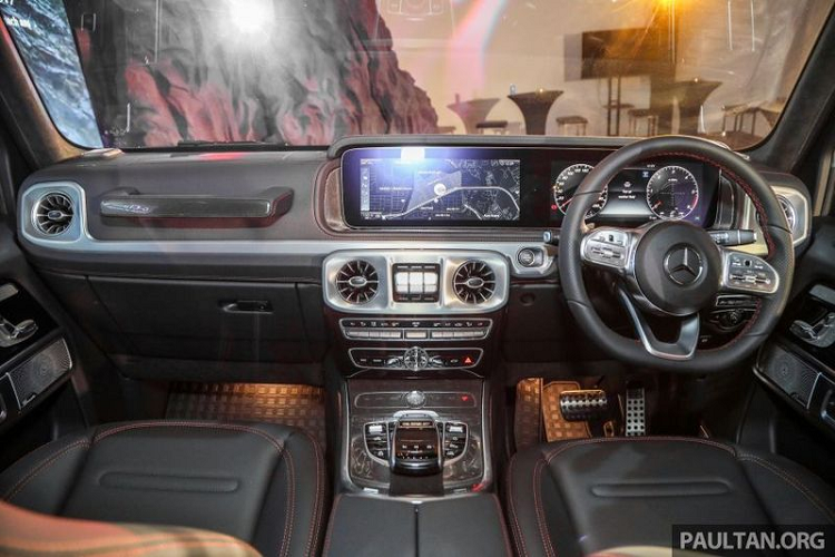 Can canh Mercedes-Benz G350d gia re tu 5,6 ty dong tai Malaysia-Hinh-8