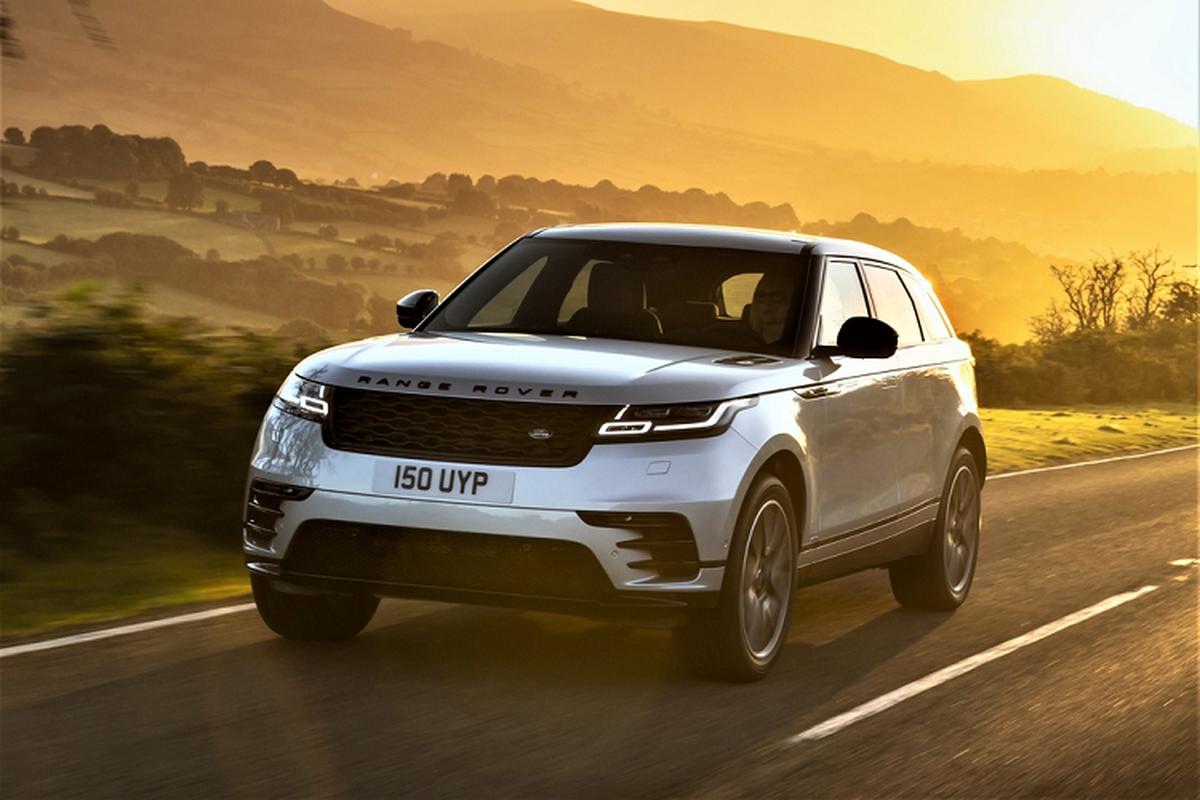 Range Rover Velar 2021 nang cap dong co, gan 60.000 USD