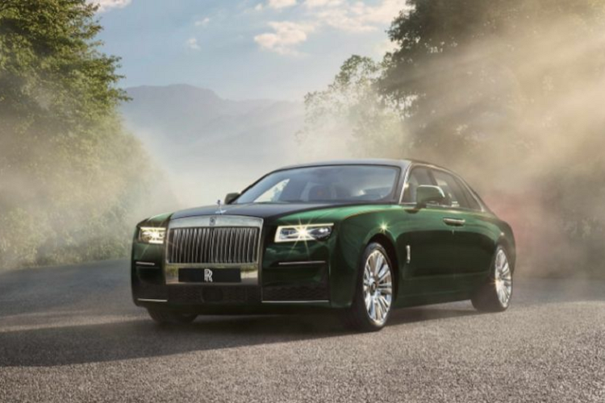 Xe sieu sang Rolls-Royce Ghost 2021 them ban than dai Extended