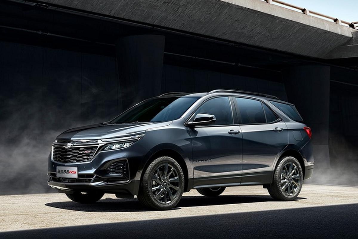 Chevrolet Equinox 2021 tu 577 trieu dong tai Trung Quoc co gi?