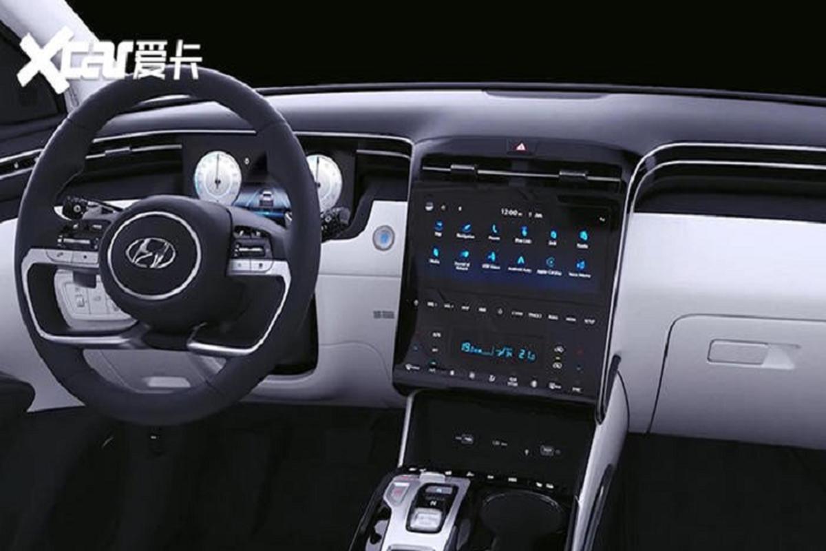 Hyundai Tucson L 2021 chi ban ra tai Trung Quoc, My va Han-Hinh-5