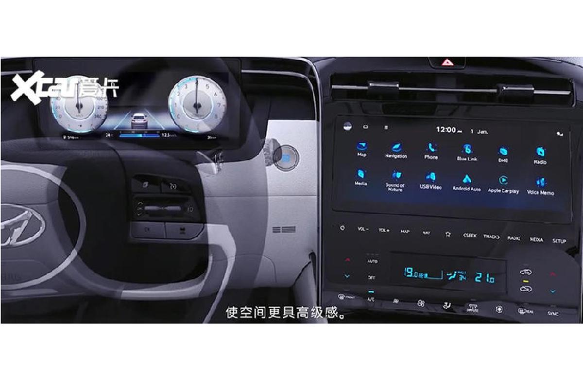 Hyundai Tucson L 2021 chi ban ra tai Trung Quoc, My va Han-Hinh-6