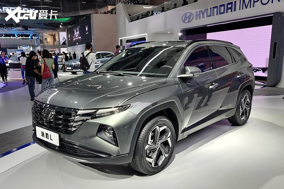 Hyundai Tucson L 2021 chi ban ra tai Trung Quoc, My va Han