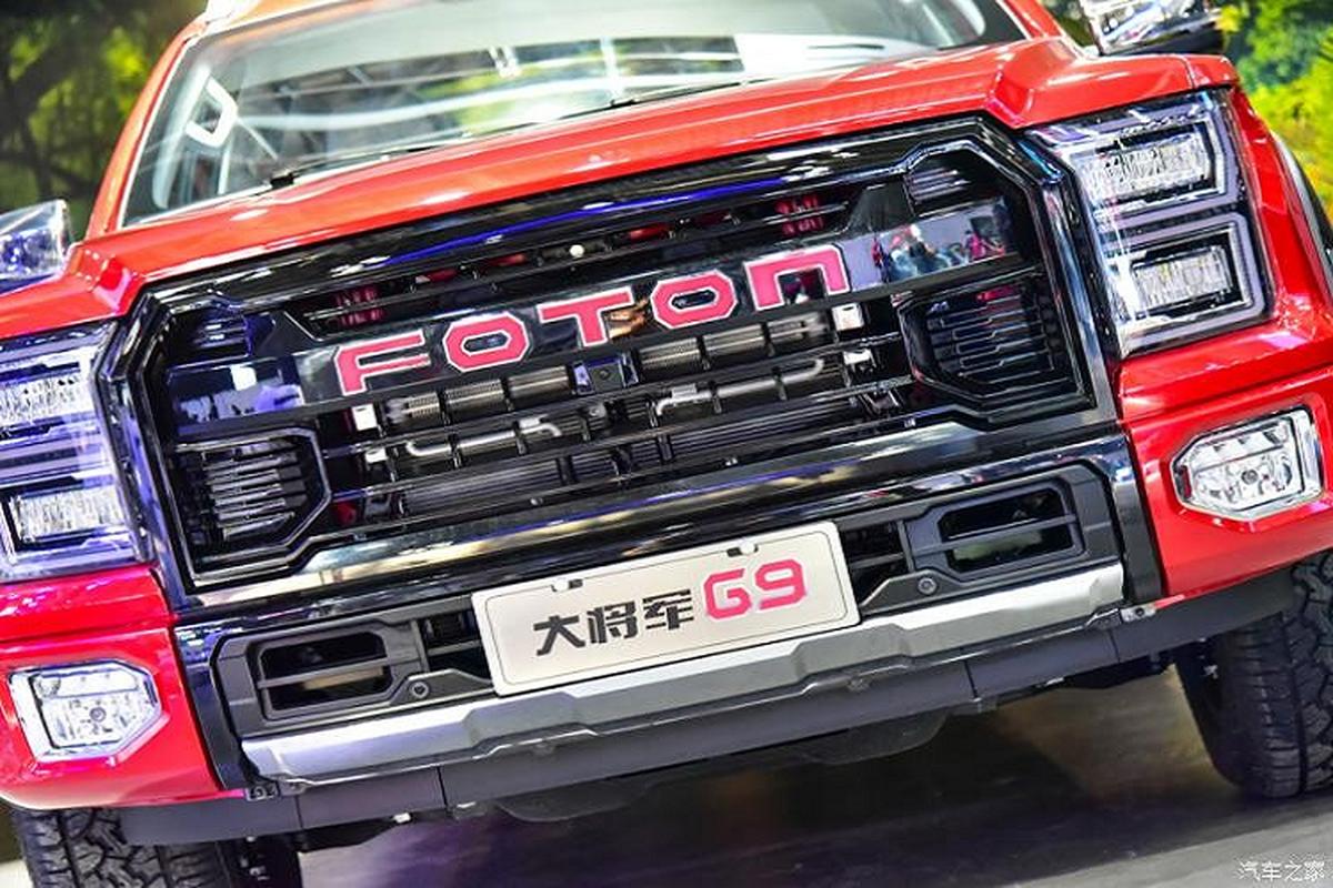 """Foton General G9, ban tai """"nhai"""" Ford F-150 Raptor trinh lang-Hinh-12"""