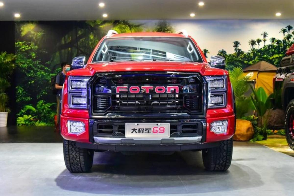 """Foton General G9, ban tai """"nhai"""" Ford F-150 Raptor trinh lang-Hinh-2"""