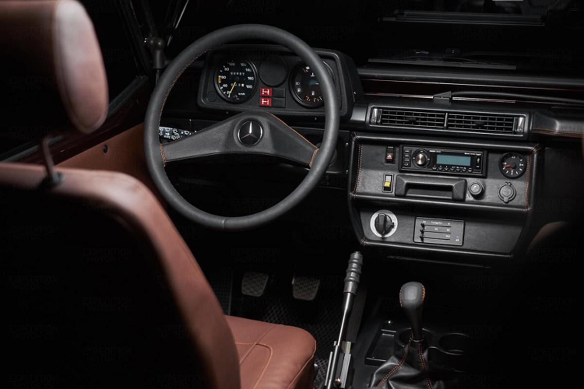 Mercedes G-Class 30 nam tuoi chao ban gan 2,5 ty dong-Hinh-5